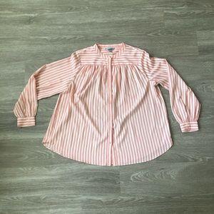 H&M Gentleman's Collar Peasant Blouse